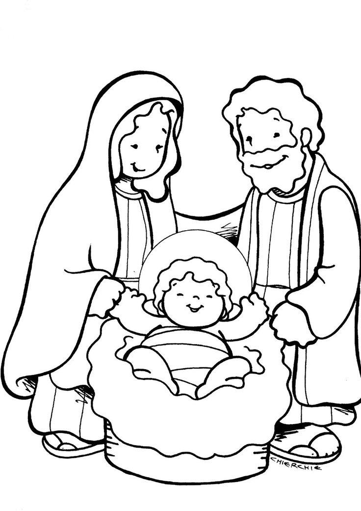 Único Dibujos Para Colorear Bebé Jesús Cresta - Dibujos Para ...