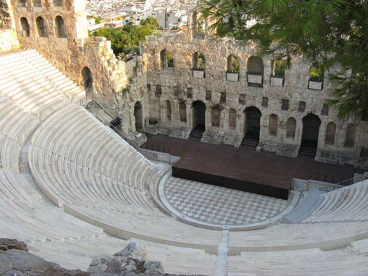 Odeion di Erode Attico - II sec. - Atene