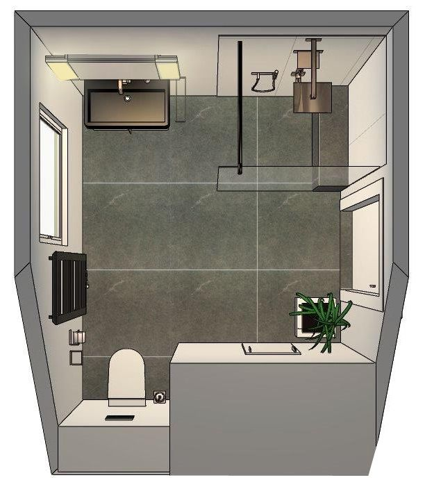 Grundriss einrichtung in 2019 for Badezimmer ideen 5qm