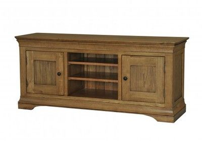 French Oak Large TV Unit - High is a  comfort, style, and space with our amazing collection that will make your room look elegant and aesthetic. http://solidwoodfurniture.co/product-details-oak-furnitures-352-french-oak-large-tv-unit-high.html