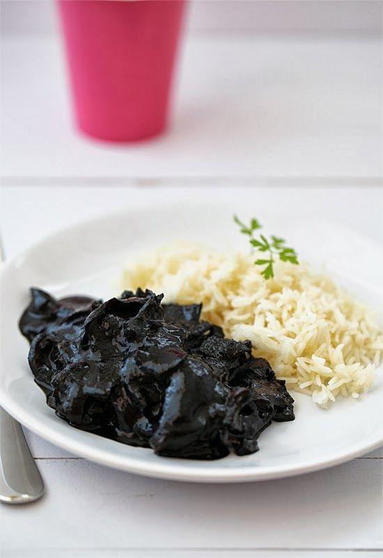 Receta 546 calamares en su tinta con arroz blanco 1080 - Comidas con arroz blanco ...