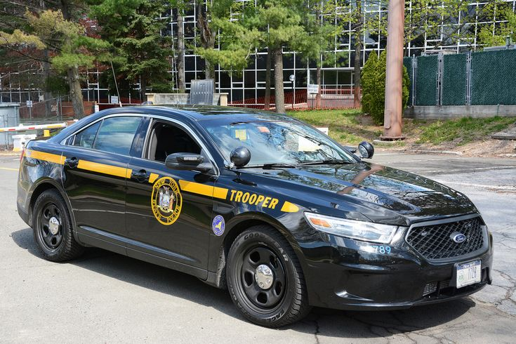 Picture Of New York State Trooper Car (1T20) - 2014 Ford Taurus ...