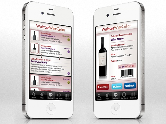 Waitrose Wine Cellar iPhone #app - http://enjoyrelax.co.uk/Waitrose-Wine-Cellar