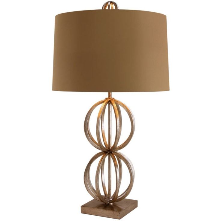 Amazon.com: Arteriors 48573-718 Millenium Iron Lamp, Taupe and Cream: Home Improvement