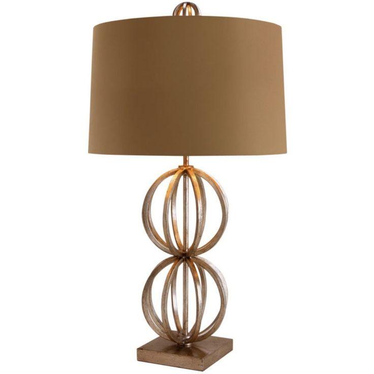 Amazon.com: Arteriors 48573-718 Millenium Iron Lamp, Taupe and Cream: Home Improvement