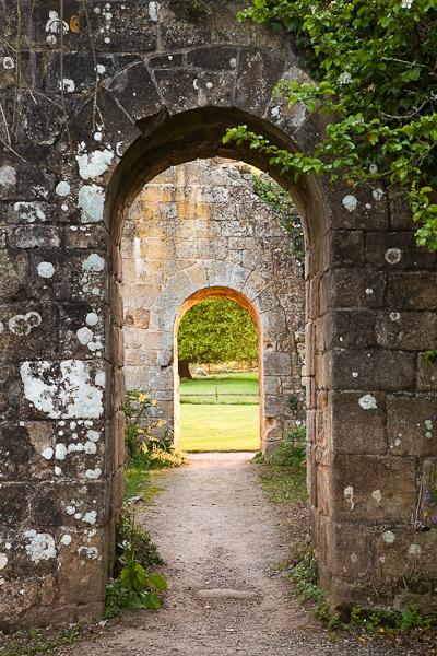 Archways, Jervaulx Abbey, Yorkshire Dales.