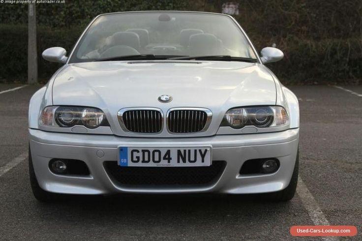 2004 BMW M3 3.2 SILVER 2DR #bmw #m3 #forsale #unitedkingdom