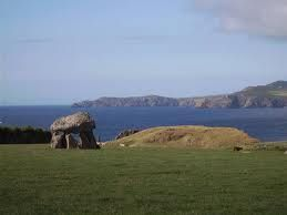 Carreg Sampson burial chamber, Longhouse inbetween Trefin and Abercastle, Pembrokeshire.