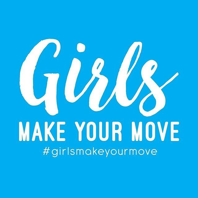 Spread the word! Let's inspire and support each other to be active. Tag your friends and encourage them to follow us #girlsmakeyourmove #girlsmove