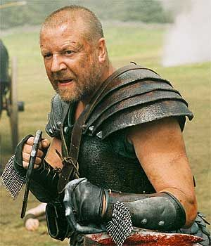 Bors, from King Arhtur. This is how I imagine Brannvin would look like. But with a mace.