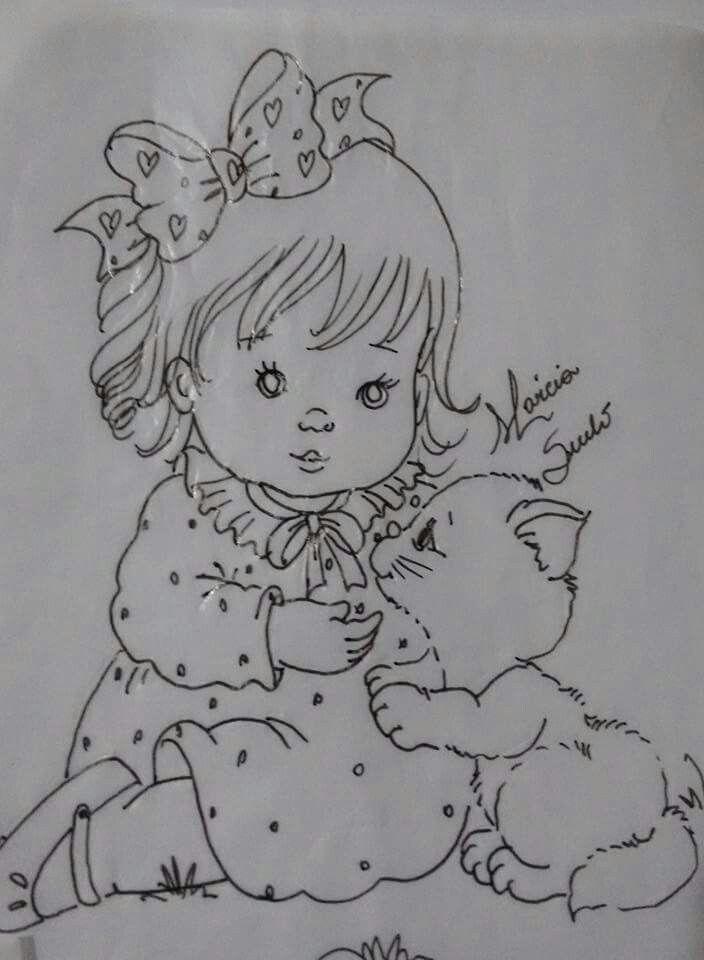 1000 images about dibujos para bebe on pinterest - Patrones para pintar en tela ...
