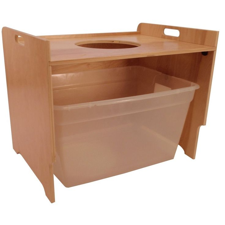Top Entry Litter Box Cover (birch, unfinished) Paint or stain to match your decor and keep the dog out of the Kitty Rocca - would be pretty easy to DIY one of these.