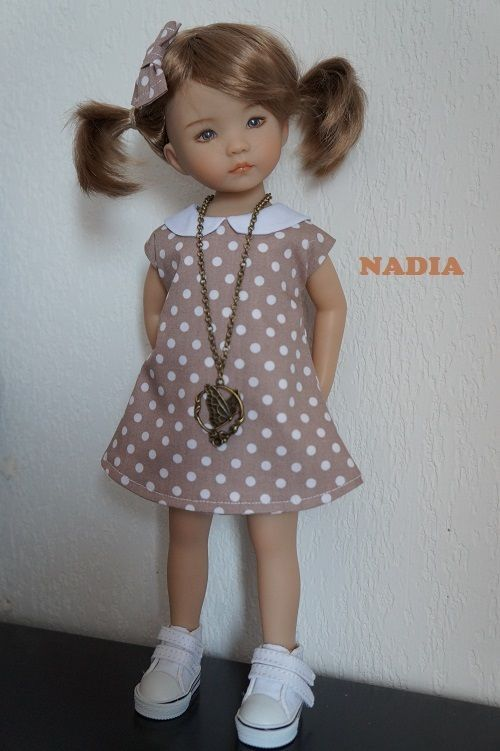 robe tenue pour poupée Little Darling Dianna Effner