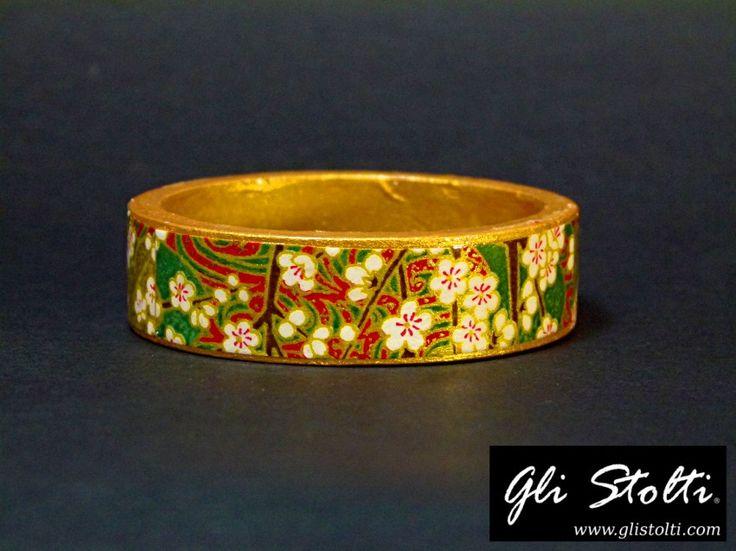 Bracciale artigianale in legno dipinto e decoupato a mano con carta riso giapponese a tema floreale. Vai al link per tutte le info: http://glistolti.shopmania.biz/compra/bracciale-artigianale-in-legno-decorato-con-carta-riso-giapponese-a-621 Gli Stolti Original Design. HandMade in Italy. #glistolti #moda #artigianato #madeinitaly #design #stile #roma #rome #shopping #fashion #handmade #handicraft #handcrafted #style #bijoux