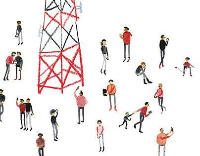 """Check out new work on my @Behance portfolio: """"Las juntas con los amigos son en la antena de mi casa"""" http://on.be.net/1I1VnZg"""