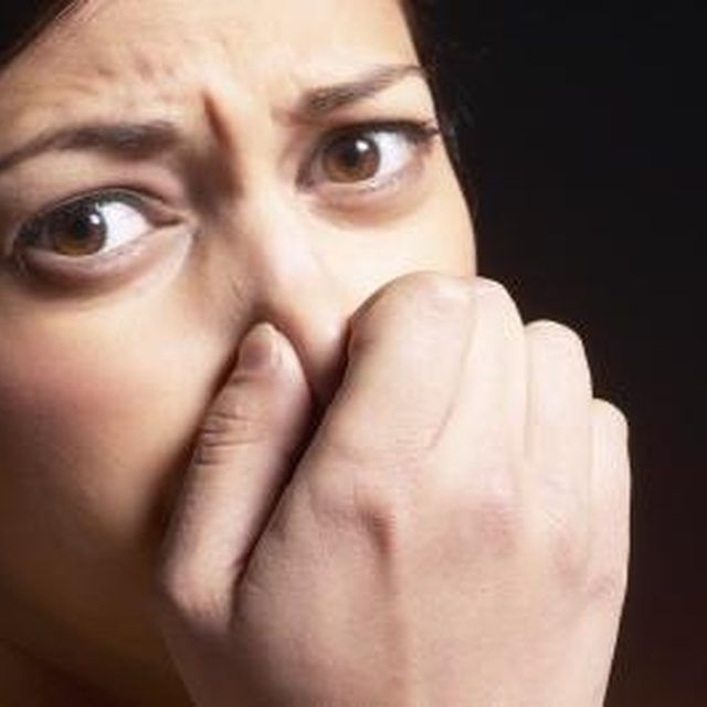 Unpleasant odors can attach themselves to various surfaces.