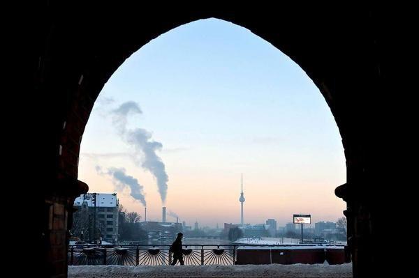 winter morning in Berlin