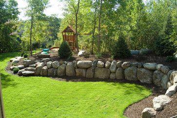 landscaping ideas with boulders | landscapes plus landscape architects designers