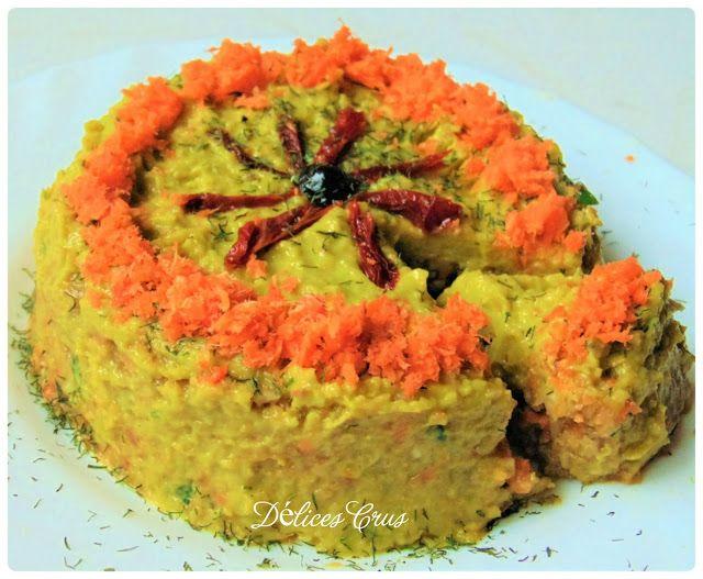 Délices Crus: Gâteau de légumes