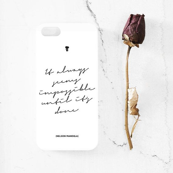 Nelson Mandela quote iPhone 5  5s case iphone 44s by MessProject, €13.00 #design #typography #quote #case #iphonecase #blackandwhite #inspirational #motivational #motto #mandela
