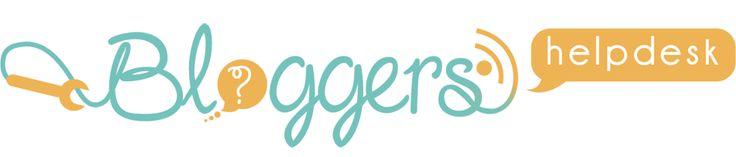 Blogger's Help Desk