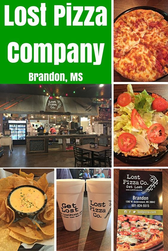 Looking for some really good pizza in Brandon, Mississippi? Lost Pizza Company is most likely your best option.