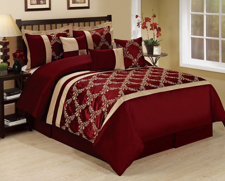 25 best ideas about maroon bedroom on pinterest maroon for Burgundy and gold bedroom designs