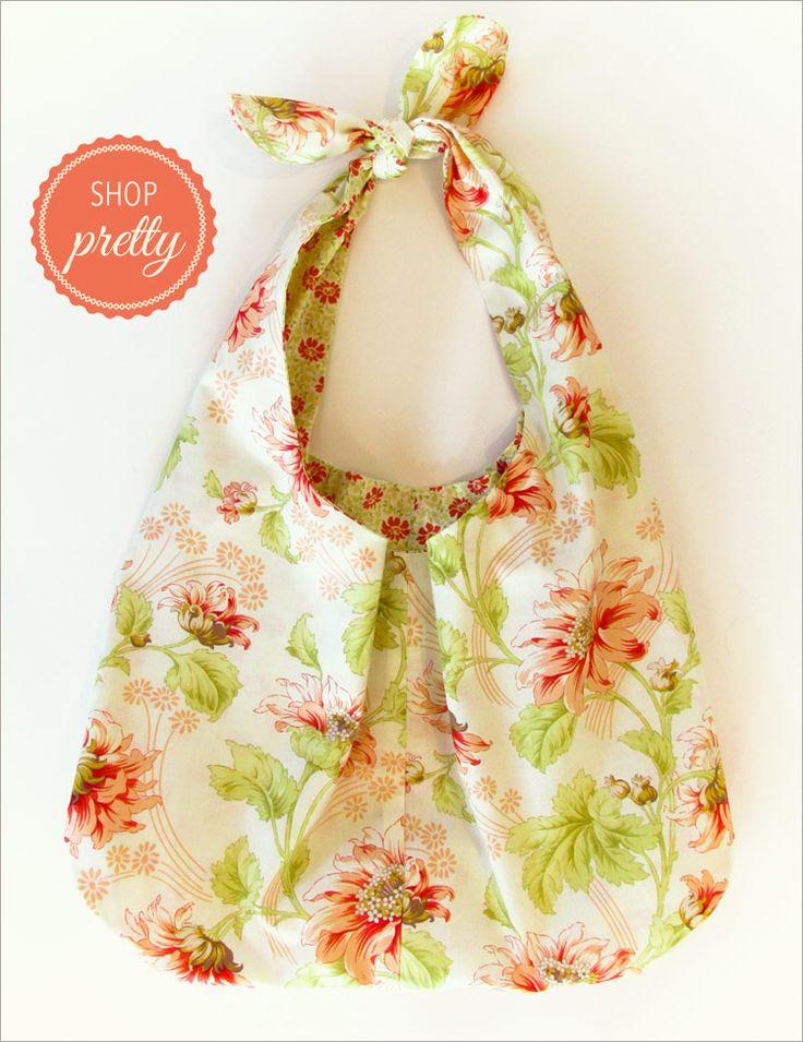 Soft & Stuffable Fabric Shopping Bags: Shop Pretty