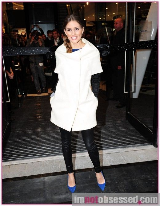 The always flawless Olivia Palermo.  Love this outfit