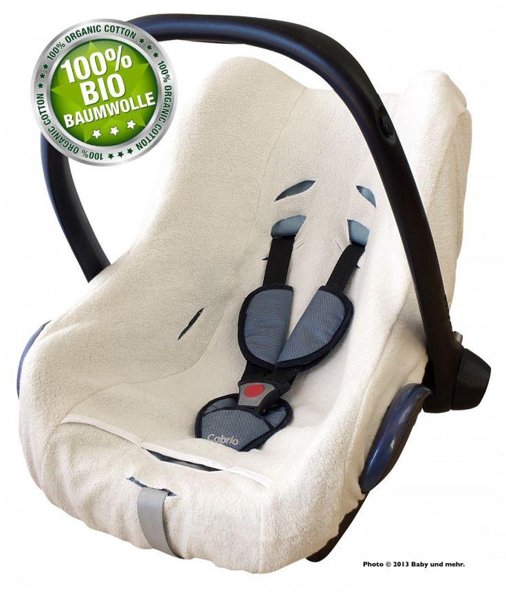 ByBoom® Universal Bezug, Schonbezug PREMIUM für Babyschale, z.B. Maxi Cosi, CabrioFix, Pebble, City SPS aus 100% BIO Baumwoll-Frottee Autositz-Zubehör Bezüge