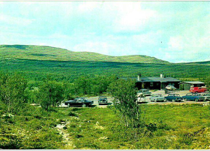 Oppland fylke Ringebu kommune Storfjellstua  Friisveien mellom Ringebu og Koppang. Utg Normann 1970-tallet