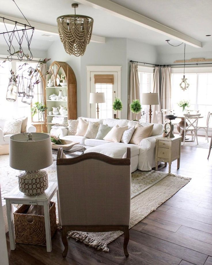 Epic 23 Cotton Stem Erin Decor https://decoratop.co/2017/12/25/23-cotton-stem-erin-decor/ Farmhouse style is straightforward and clean so attempt to stay with neutral tones (you may add color in your decorative accents).