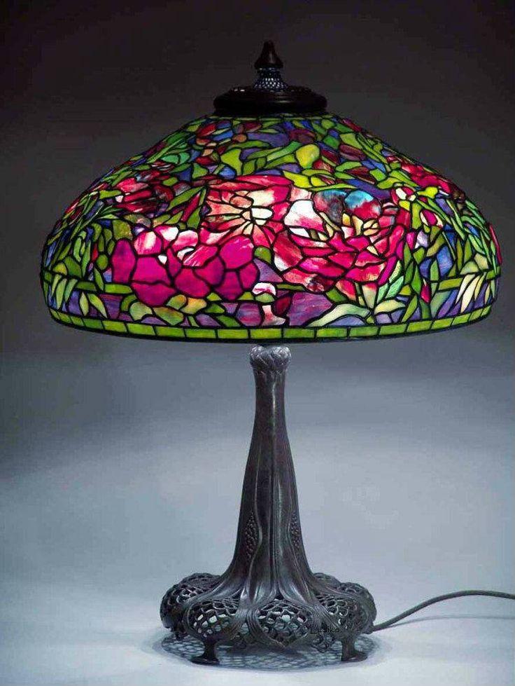Louis Comfort Tiffany Lamp 225 best peony