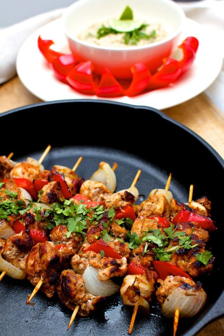 Shish Taouk (Lebanese Chicken Skewers)