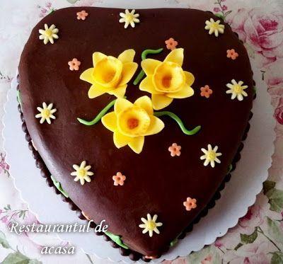 Restaurantul de acasa: Tort crema suhaida,ciocolata