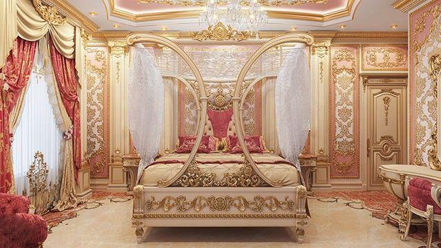 Unique Classic Bedroom Design Interior Design Dubai Exclusive