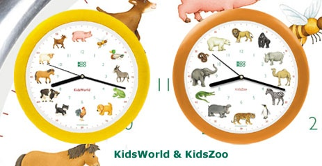 KooKoo - The Original Voice Clock. now this is the best thing EVER! available in songbird, jungle/zoo, farm themes