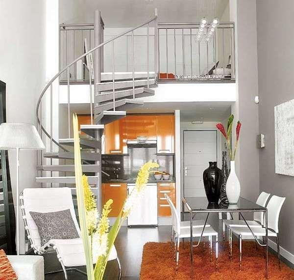 Arredare un appartamento di 45 mq - Appartamento sviluppato in verticale