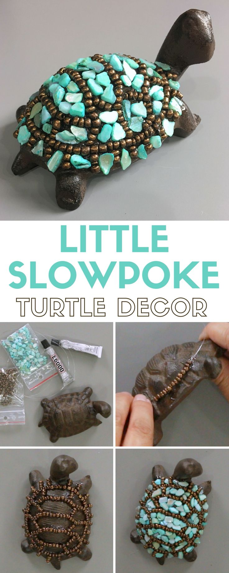 The pin junkie how to make paper bluebonnets - How To Make A Little Slowpoke Turtle Decor
