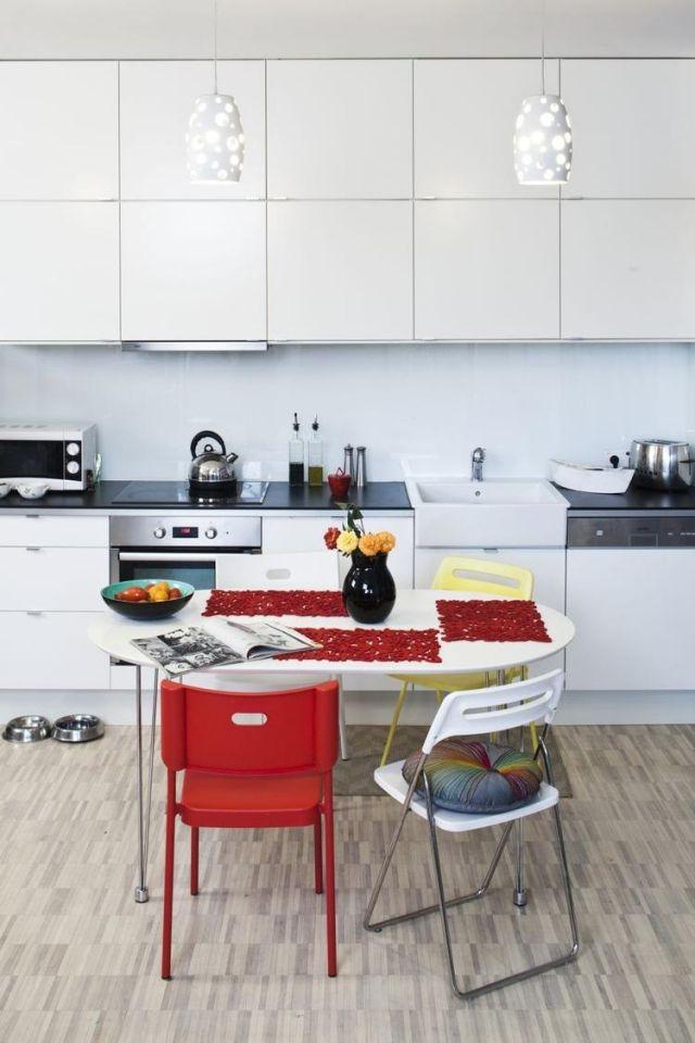 Farbgestaltung Fur Weisse Kuche 32 Ideen Fur Wandfarbe Kuche