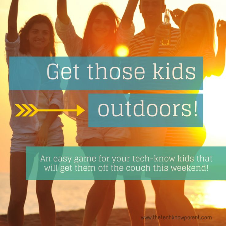 """I added """"Get your tech-head kids outdoors and having fun!"""" to an #inlinkz linkup!http://www.thetechknowparent.com/behind-the-scenes-and-an-idea-for-the-weekend/"""