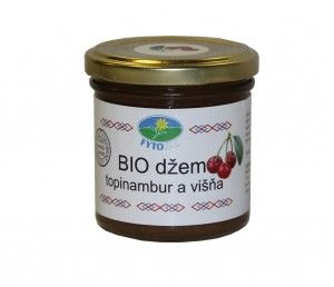 Topinambur jam (sour cherry)