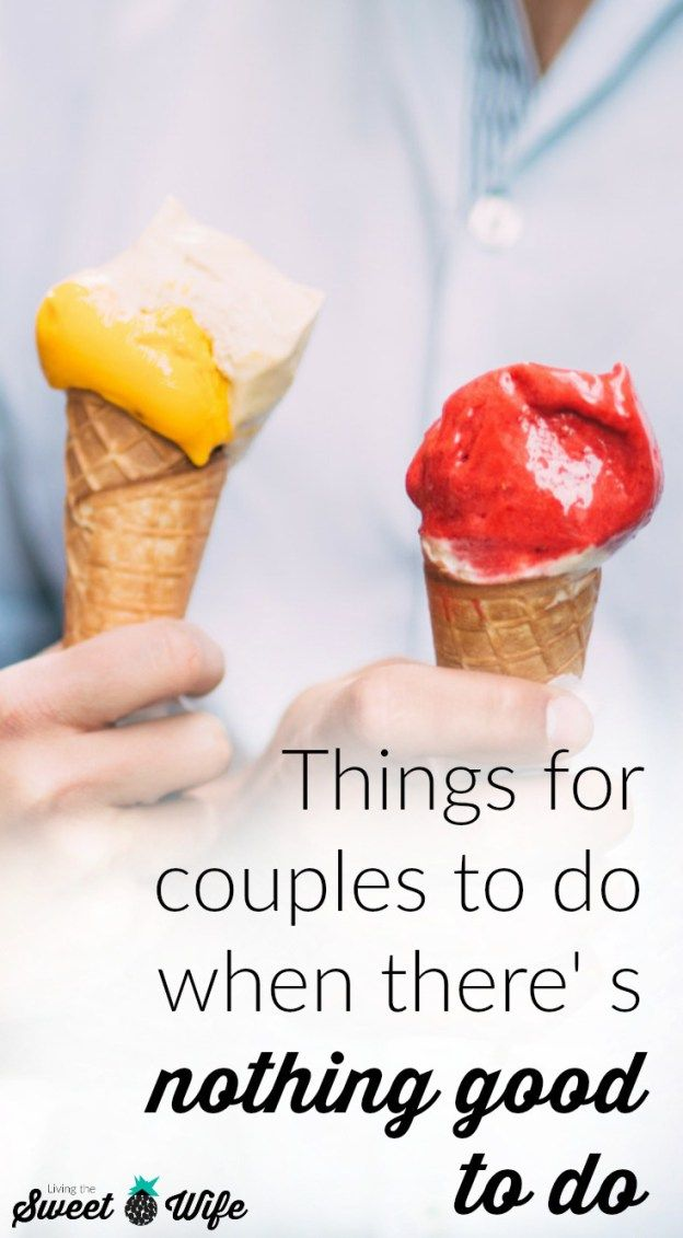 Sometimes, there's just nothing good to do… or is there!?!?! Before you give up hope, take a look at this list of 7 random activities for couples to do when there's nothing good to do!