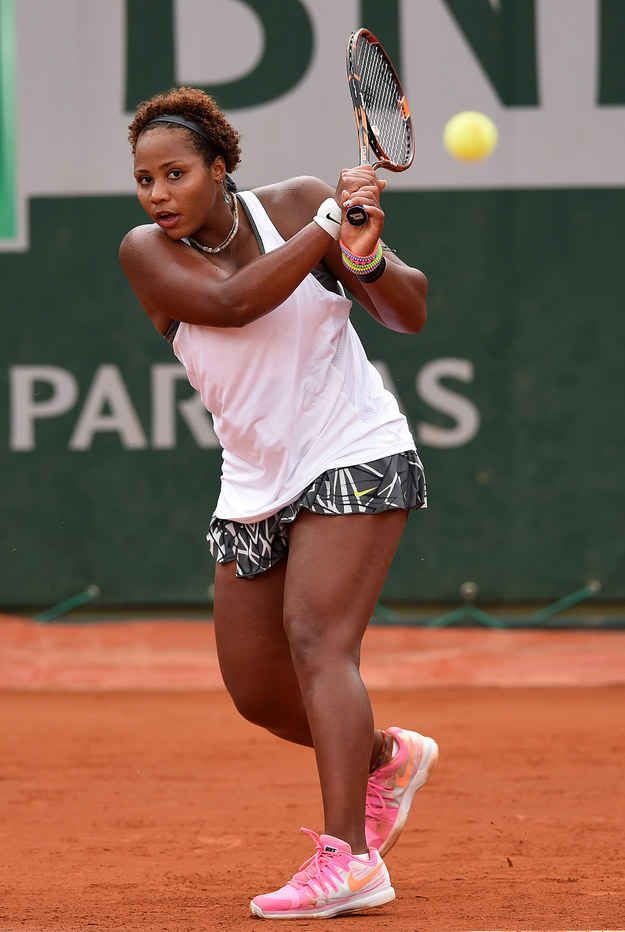 Meet Taylor Townsend, the 18-year-old American tennis player who won the USTA wild card entry to this year's French Open.