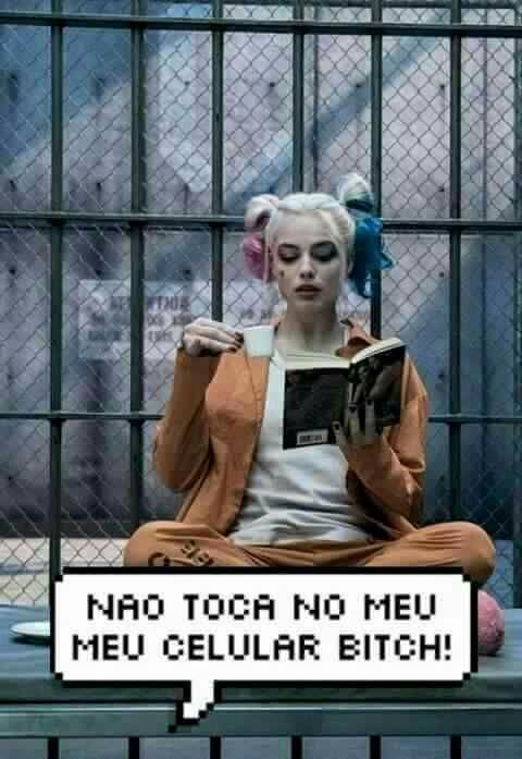 Harley Quinn tela de bloqueio  -☆