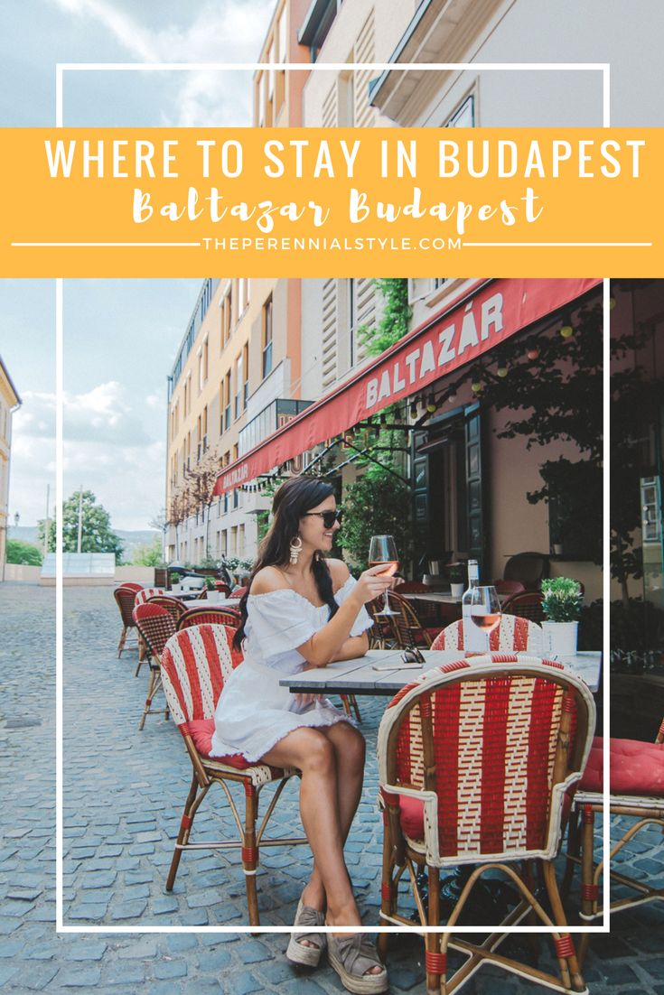 Where to stay in Budapest: Baltazar Budapest: A Charming Boutique Hotel For Design Lovers // Read why you should stay in this luxury boutique hotel on your next visit to Budapest