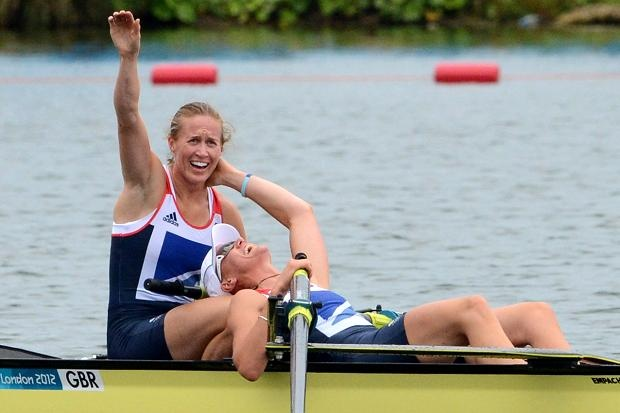 GB rowers start the gold rush as women's pair destroy the field