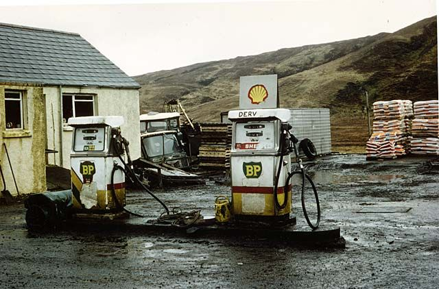 Scotland petrol pumps