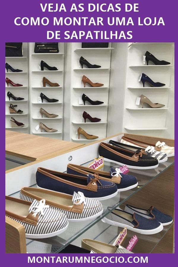 1af3f7247 Clique na imagem e descubra como montar uma loja de sapatilhas passo a  passo. #sapatilhas #sapatos #calçados #loja #ideiasdenegocios #negocio