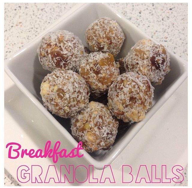 peanut butter granola balls two peas their pod peanut butter granola ...